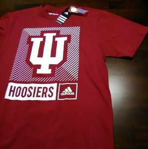 Adidas Large Indiana Hoosiers Premium Shirt